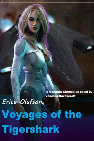 Erica Olafson, Voyages of the Tigershark (Vol 8) cover Thumb