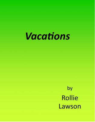 Vacations cover Thumb
