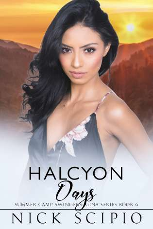 Halcyon Days: Summer Camp Swingers: Gina Series Book 6 cover Thumb
